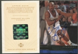 2002/03 Upper Deck #32 Chauncey Billups 1999/00 Upper Deck Buy Back Auto #1/1