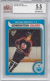 1979/80 Topps Hockey #18 Wayne Gretzky Rookie BVG 5.5 (EXCELLENT+) *3158