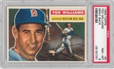 1956 Topps Baseball #5 Ted Williams Gray Back PSA 8 (NM-MT) *7791