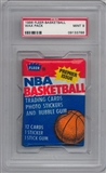1986/87 Fleer Basketball Wax Pack Graded PSA 9 (MINT) *3786