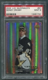 2005/06 McDonald's Upper Deck #51 Sidney Crosby Rookie PSA 9 *1720