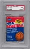 1986/87 Fleer Basketball Wax Pack Graded PSA 9 (MINT) *6632