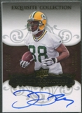 2008 Exquisite Collection #130 Jermichael Finley Rookie Auto #110/150