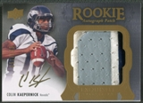 2011 Exquisite Collection #146 Colin Kaepernick Rookie Patch Auto #051/135