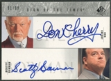 2003/04 SP Authentic #BCY Scotty Bowman & Don Cherry Sign of the Times Auto #01/99