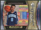 2005/06 SP Authentic #93 Deron Williams Limited Extra Rookie Patch Auto #10/25