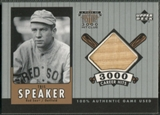 2000 Upper Deck A Piece of History #TSB Tris Speaker 3000 Club Bat