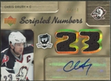 2005/06 The Cup #DSNDM Chris Drury & Ryan Miller Scripted Numbers Dual Jersey Auto #05/10