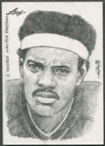 2013 Leaf Best of Football #79 Walter Payton Sketch #1/1