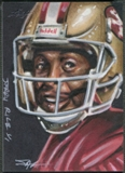 2013 Leaf Best of Football #82 Jerry Rice Sketch #1/1