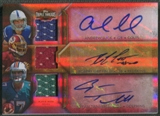 2012 Topps Triple Threads #TTARC6 Ryan Tannehill Robert Griffin III Andrew Luck Rookie Jersey Auto #19/27