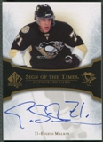 2007/08 SP Authentic #STEM Evgeni Malkin Sign of the Times Auto