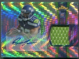 2012 Finest #RAPRTU Robert Turbin Prism Refractor Rookie Patch Auto #10/10
