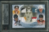 2007/08 ITG Ultimate Memorabilia #12 Mario Lemieux Journey Emblem Patch #07/09