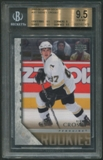2005/06 Upper Deck #201 Sidney Crosby Young Guns Rookie BGS 9.5