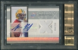 2005 SPx #223 Aaron Rodgers Rookie Jersey Auto #054/250 BGS 9.5