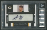 2005 Zenith #180 Aaron Rodgers Rookie Patch Auto #06/99 BGS 9