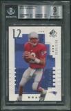 2000 SP Authentic #118 Tom Brady Rookie #0188/1250 BGS 9