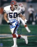 Ray Bentley Autographed Buffalo Bills 8x10 Football Photo