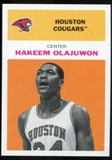 2011/12 Upper Deck Fleer Retro 1961-62 #HO3 Hakeem Olajuwon Orange