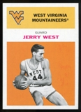 2011/12 Upper Deck Fleer Retro 1961-62 #JW3 Jerry West Orange