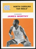 2011/12 Upper Deck Fleer Retro 1961-62 #WO3 James Worthy Orange