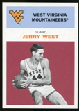 2011/12 Upper Deck Fleer Retro 1961-62 #JW2 Jerry West Dark Red