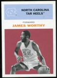 2011/12 Upper Deck Fleer Retro 1961-62 #WO2 James Worthy Dark Red