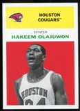 2011/12 Upper Deck Fleer Retro 1961-62 #HO1 Hakeem Olajuwon Bright Red