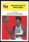 2011/12 Upper Deck Fleer Retro 1961-62 #JE1 Julius Erving Bright Red