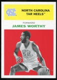 2011/12 Upper Deck Fleer Retro 1961-62 #WO1 James Worthy Bright Red