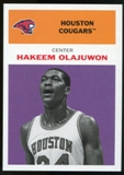 2011/12 Upper Deck Fleer Retro 1961-62 #HO4 Hakeem Olajuwon Purple