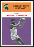 2011/12 Upper Deck Fleer Retro 1961-62 #JO4 Magic Johnson Purple