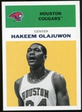 2011/12 Upper Deck Fleer Retro 1961-62 #HO5 Hakeem Olajuwon Yellow