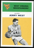 2011/12 Upper Deck Fleer Retro 1961-62 #JW5 Jerry West Yellow