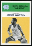 2011/12 Upper Deck Fleer Retro 1961-62 #WO5 James Worthy Yellow