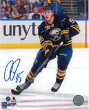Rasmus Ristolainen Autographed Buffalo Sabres Unyts 8x10 Photo