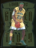 2011/12 Upper Deck Fleer Retro Golden Touch #2 LeBron James