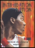 2011/12 Upper Deck Fleer Retro Intimidation Nation #5 Hakeem Olajuwon
