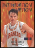 2011/12 Upper Deck Fleer Retro Intimidation Nation #16 Steve Nash