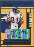 2001 Playoff Contenders #150 LaDainian Tomlinson Rookie Auto
