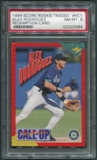 1994 Score Rookie Traded #HC1 Alex Rodriguez Rookie PSA 8 (NM-MT) *2084