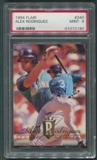 1994 Flair Baseball #340 Alex Rodriguez Rookie PSA 9 (MINT) *2190
