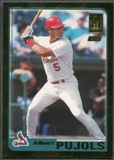 2001 Topps Traded #T247 Albert Pujols Gold Rookie #0729/2001