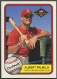2001 Fleer Platinum #521 Albert Pujols Rookie