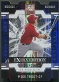 2009 Donruss Elite Extra Edition #57 Mike Trout Aspirations Rookie #199/200