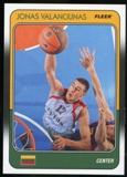 2011/12 Upper Deck Fleer Retro 1988-89 #JV Jonas Valanciunas