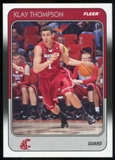 2011/12 Upper Deck Fleer Retro 1988-89 #KT Klay Thompson