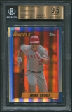 2013 Topps Archives #200 Mike Trout Gold #117/199 BGS 9.5 (GEM MINT) *7647
