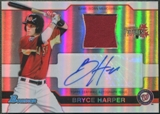 2011 Bowman Draft #BHAR1A Bryce Harper Rookie Relic Jersey Auto #41/69